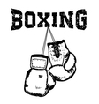 boxing2 vector image vector image