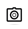 camera digital icon on white background vector image