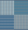 checkered seamless - blue vector image