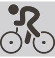 cycling icon vector image vector image