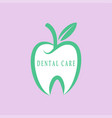 dental care-icon vector image vector image