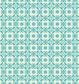 Seamless pattern of arabic ornament vector image vector image