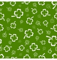 Shamrock seamless pattern vector image vector image