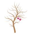 wedding tree vector image