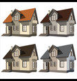 cottages vector image