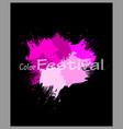 abstract watercolor splash watercolor drop banner vector image vector image