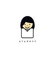 avatar portrait profile picture vector image vector image