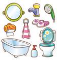 bathroom element vector image vector image