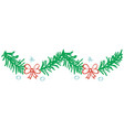 christmas pattern texture vector image vector image