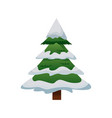 cute pine tree christmas decoration ornament image vector image vector image