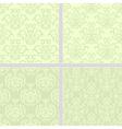 Green pastel summer seamless pattern vector image vector image