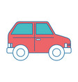 isolated vehicle car vector image