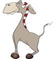 The little burro Cartoon vector image vector image