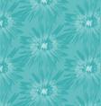 blue batik pattern vector image