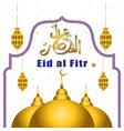 eid al fitr event background 3 vector image vector image