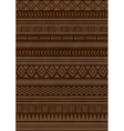Ethnic indian pattern Aztec navajo vector image