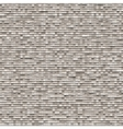 Gray background of small bricks vector image vector image