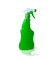 household cleaner in a container with spray vector image