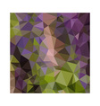 Palatinate Purple Abstract Low Polygon Background vector image vector image