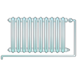 Radiator heating vector image