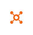 drone icon logo vector image