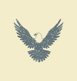 eagle flat icon vector image