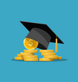 education grant concept vector image vector image