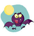 Happy Bat vector image vector image