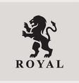 heraldry lion logo
