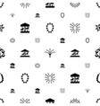 merry icons pattern seamless white background vector image vector image