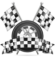 Racing vector image vector image