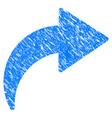 redo grunge icon vector image vector image