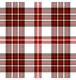 seamless tartan pattern in dark brown red pink vector image