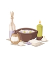 Spa aroma icons vector image vector image