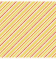 yellow orange watercolor grunge striped seamless vector image vector image