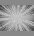 abstract sun burst white gray color circle vector image vector image
