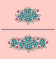 daisy cute bouquets vector image vector image