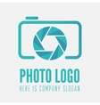 Logo label sticker and logotype element for vector image vector image