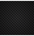 seamless black 3d pattern vector image