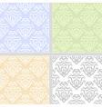 Summer pastel seamless pattern set