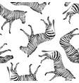 watercolor seamless patterns with safari vector image vector image
