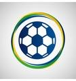 football sport badge icon vector image