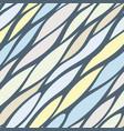 asymmetry streak seamless pattern vector image