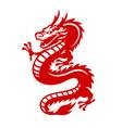 big dragon tattoo design vector image vector image