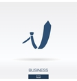 Business concept icon logo vector image