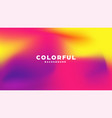colorful modern abstract background with neon vector image