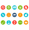education button icons set vector image