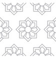 gray floral pattern seamless for backdrop vector image vector image