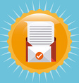 mail concept vector image