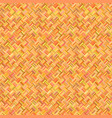 orange abstract seamless diagonal rectangle vector image vector image